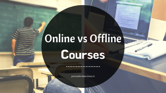 How Online Course differs from Offline Course??